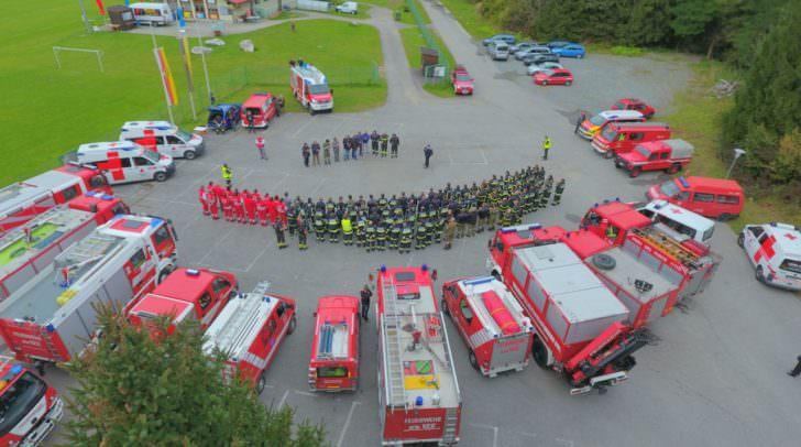 Feuerwehr, Übung, Einsatzkräfte,