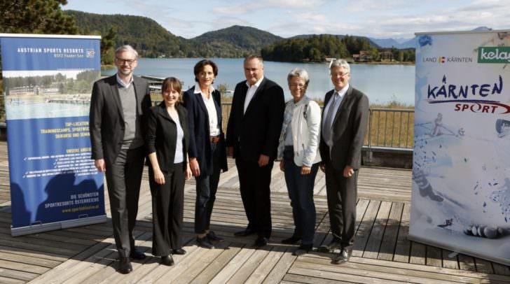 LandessportfererentInnenkonferenz mit LH Peter Kaiser und BM Hans-Peter Doskozil