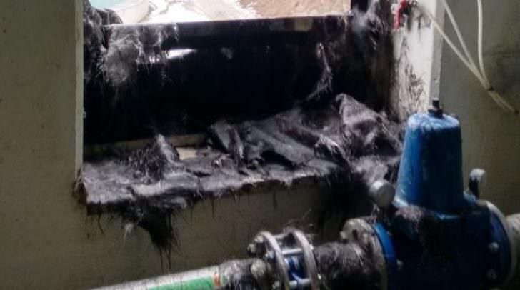 Verbrennungen sowie eine Rauchgasvergiftung sind die Folgen eines Arbeitsunfalles in Weißenstein
