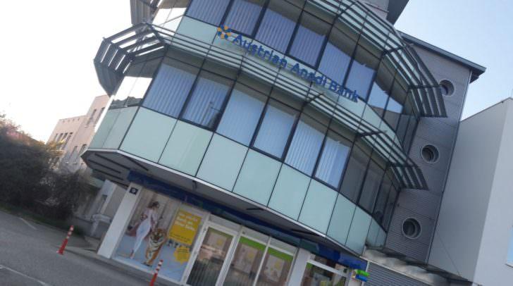 Auch in Villach betreibt die Austrian Anadi Bank eine Filiale