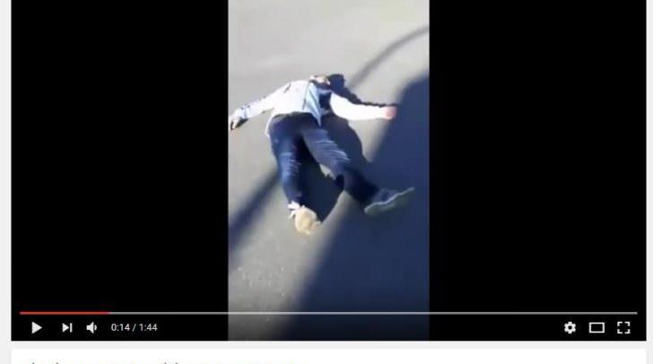 Diese Szenen des Gewaltvideos sorgten für einen Paukenschlag: Der betroffene Jugendliche zog seine Kandidatur zurück