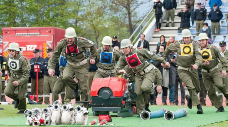Jede Sekunde zählt, schon am Trainingstag zeigten die Teilnehmer aus ganz Österreich Spitzenleistungen.