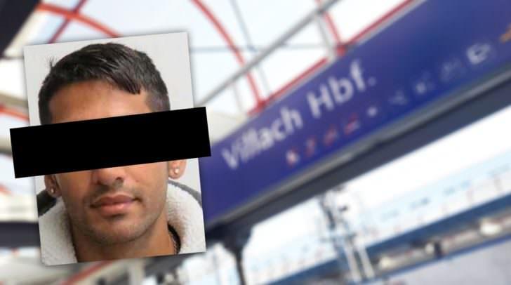 Der mutmaßliche Täter Shahjahan B. wurde in einem Zug bei Villach aufgegriffen.