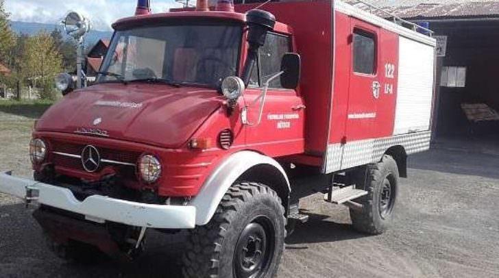 Kurios: Auf willhaben.at findet sich seit gestern der Unimog der Feuerwehr Nötsch.