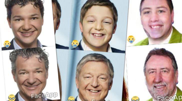 Peter Weidinger, Günther Albel oder Erwin Baumann ... wir haben für euch den Faceapp Filter aktiviert.