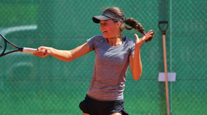 Die erst 14-jährige Villacherin gilt als große Zukunftshoffnung des Kärntner Tennis.