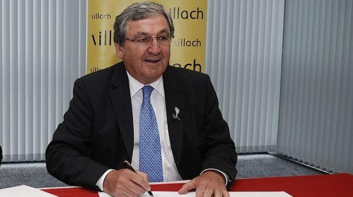 Helmut Manzenreiter war von 1987 bis 2015 Bürgermeister in Villach