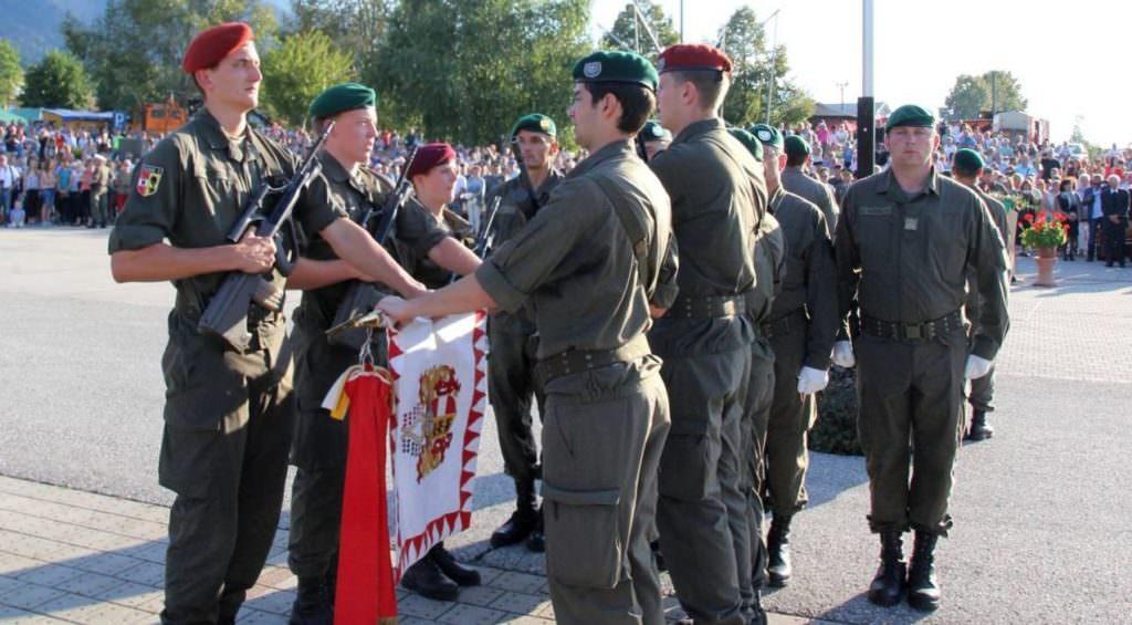 Villacher Rekruten Werden Angelobt In Villachweitensfeld 5
