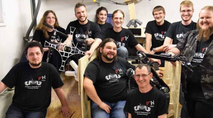 Den ersten Platz in der Gesamtwertung holte sich das Robotik-Team der FH Kärnten