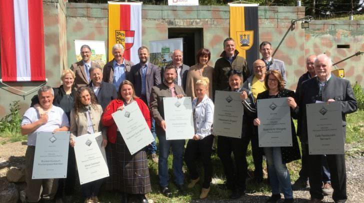 Naturpark Dobratsch hat acht neue Partnerbetriebe