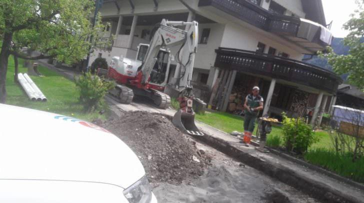 In Feistritz/Gail wurde im Mai fleißig gegraben