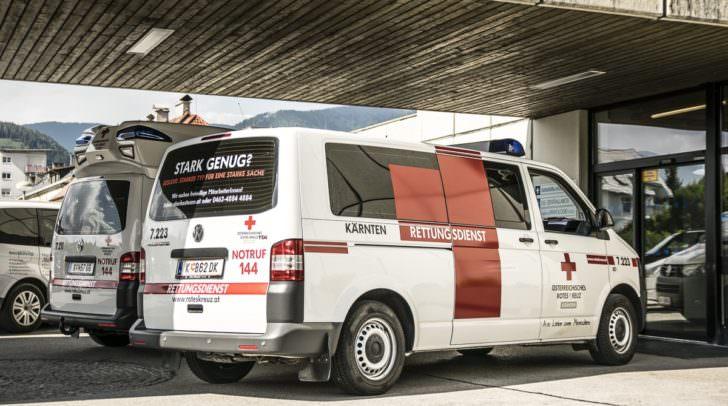 Der Schüler wurde beim Unfall unbestimmten Grades verletzt und musste in das Klinikum Klagenfurt gebracht werden.