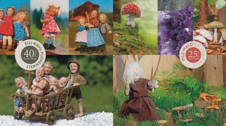 Puppenwelt Elli Riehl und Pilz-Wald-Erlebniswelt