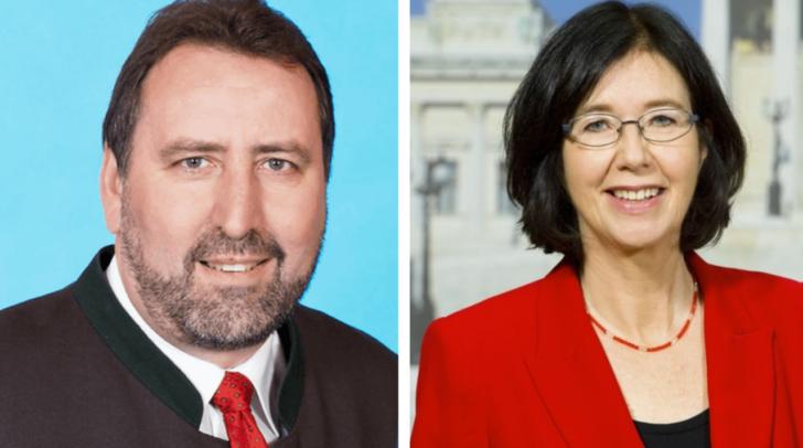 Erwin Baumann und Christine Muttonen