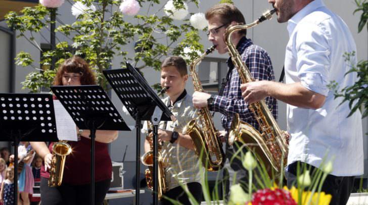 Aufführung der Musikschule