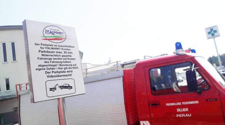 Heute kam es zu einem Einsatz im Bereich des ItalMarktes in der Maria-Gailer Straße.