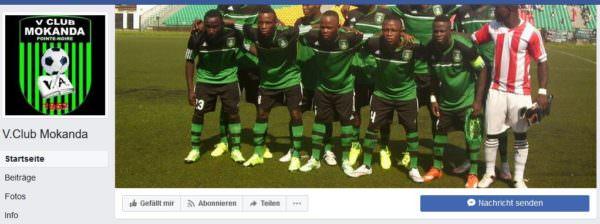 Die stolzen Kicker des V-Club Mokanda: Geht es nach dem V-Club Villach könnte die afrikanische Erfolgself auch im Zuge eines Freundschaftsspieles gegen ein V-Club Villach Team antreten.