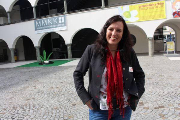 """Die Kärnten Guides""-Obfrau Mag. a Marlies Stadler aus Wernberg."