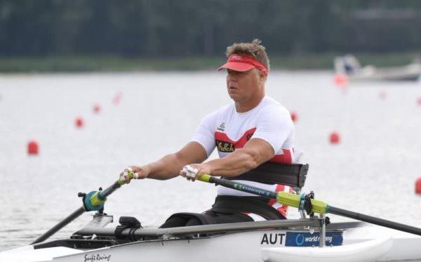 Klaus Dolleschal hat mittlerweile die Leidenschaft zum Rudersport entdeckt