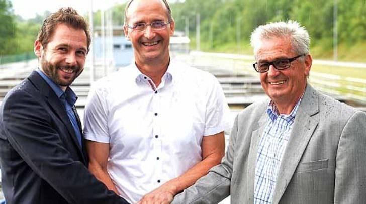 Abwasserverband GF Fabian Gregor Wagner (NEU) , Ing Klaus Lassnig, Obmann Walter Kupper