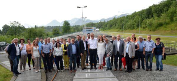 Verabschiedung des GF Ing. Klaus Lassnig des Abwasserverband Wörthersee- West in den Ruhestand