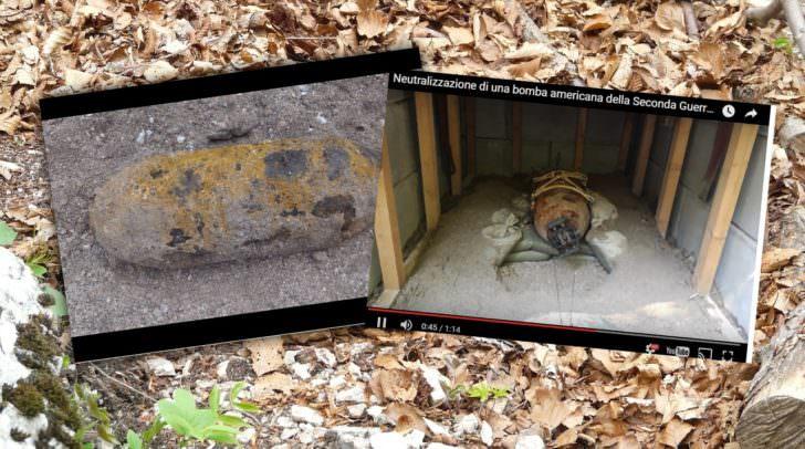 Zwei der 500-Kilo-Bomben wurden gestern in der Nähe der Kärntner Grenze gefunden.