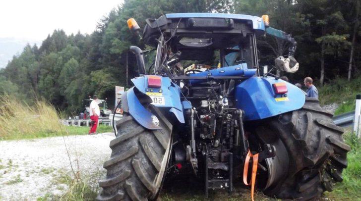 Im steilen Gelände kommt es immer wieder zu Unfällen in der Landwirtschaft - hier vor zwei Jahren.