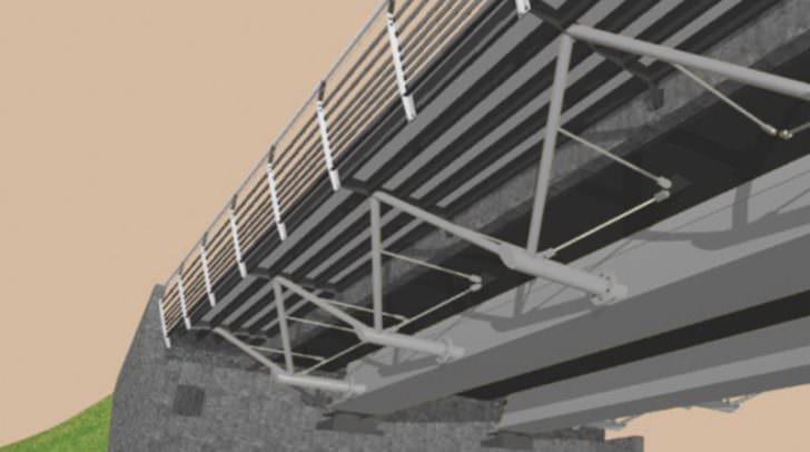 So wird die neue Brücke über die Gail nach ihrer Fertigstellung aussehen (das Bild zeigt einen Planungsentwurf).