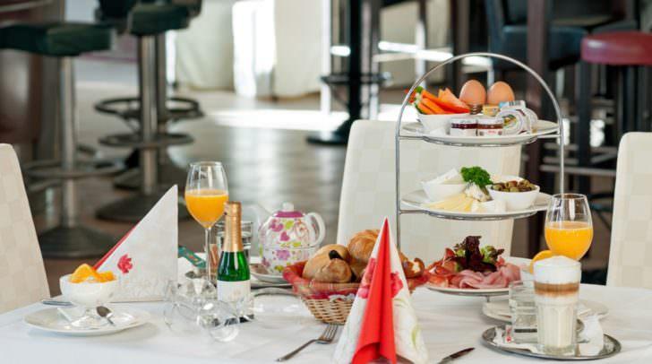 Große Frühstücksauswahl mitten in Villach