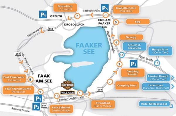 Anfahrt, Parken und Verkehrsregelung