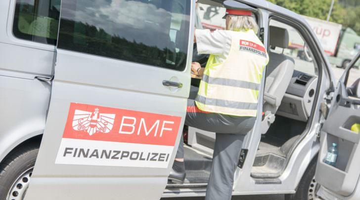 An den Kontrollen beteiligte sich auch die Finanzpolizei