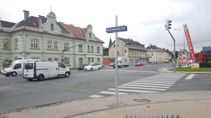 Kreuzung Mössinger Straße