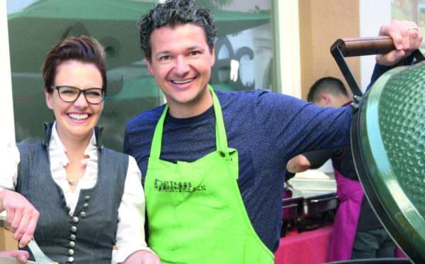 Auch Katharina Spanring und Peter Weidinger freuen sich schon