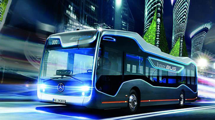 Autonomes Fahren mit dem Mercedes FutureBus
