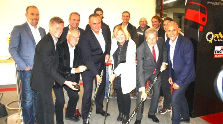 """Bürgermeisterin Dr. Maria-Luise Mathiaschitz: """"DasBundesleistungszentrumisteineAufwertungfürKlagenfurtundden Eishockeysport."""""""