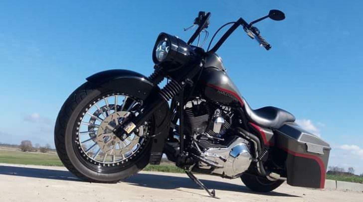 so sieht die gestohlene Harley aus