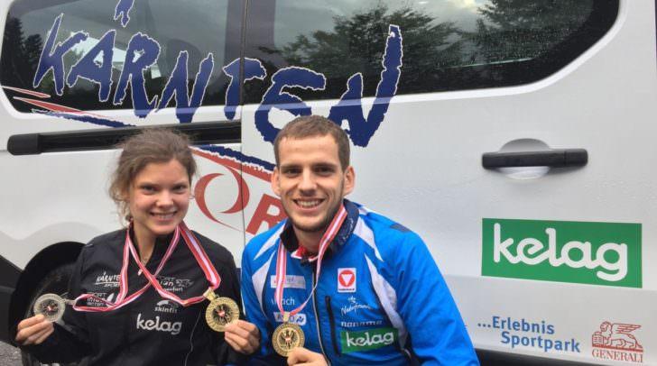 Carina Polzer und Matthias Reiner