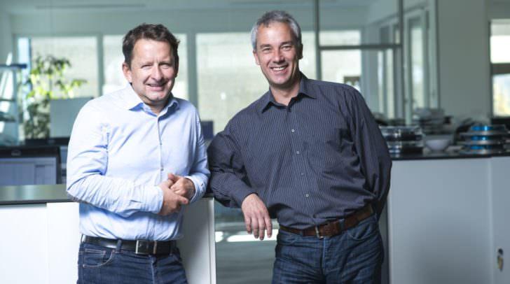 Die beiden Geschäftsführer von T.I.P.S. Messtechnik