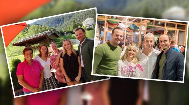 Bürgermeister Christian Hecher wünscht der neuen Leitung des Tourismusbüros und der neuen Pächterin des Cafe Rondeau alles Gute.