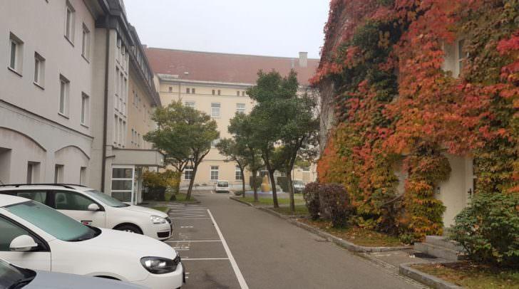 Gesundheitsamt Innenhof