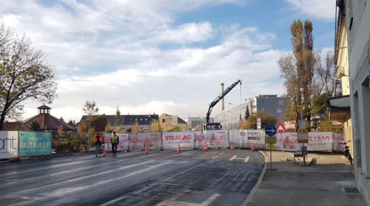 Baustelle an der Brücke: Ärgernis für Verkehrsteilnehmer