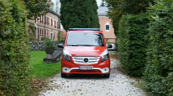 Das neue Mannschaftsfahrzeug der Nötscher Feuerwehr wurde zum großen Teil durch freiwillige Spenden und von unterstützenden Mitgliedern finanziert
