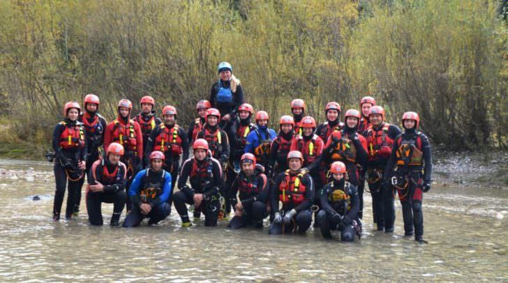 Großes Interesse und viel Motivation herrschte beim diesjährigen Fließwasserretter-Kurs des ÖWR Landesverbandes.