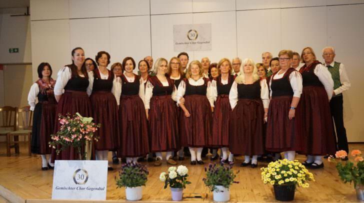 Der Gemischte Chor Gegendtal eröffnet am 21. Oktober die Treffner Kulturwochen