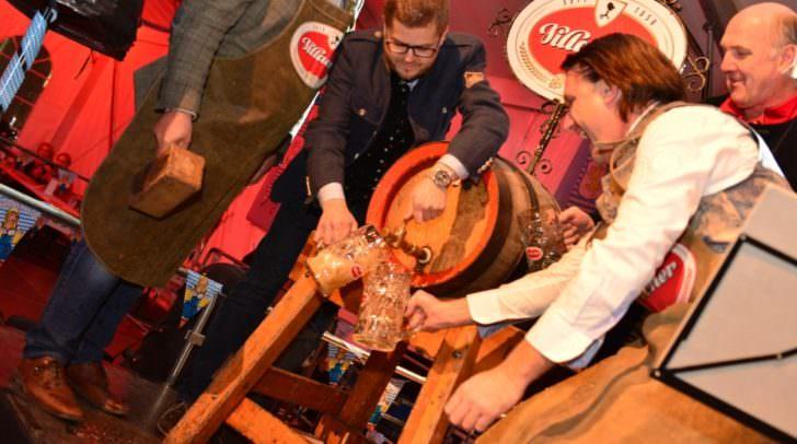 Beim diesjährigen Bieranstich gibt es GRATIS-Bier für alle solange der Vorrat reicht!