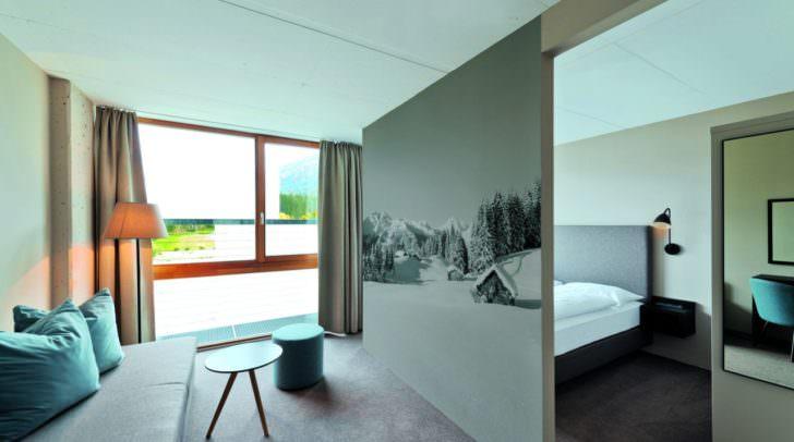 Die Zimmer im neuen franz FERDINAND Mountain Resort