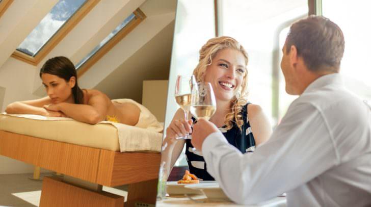 Wellness, Hotel, Kulinarik und Spiel: Die optimale Kombination für ein tolles Wochenende zu Zweit in Kranjska Gora.