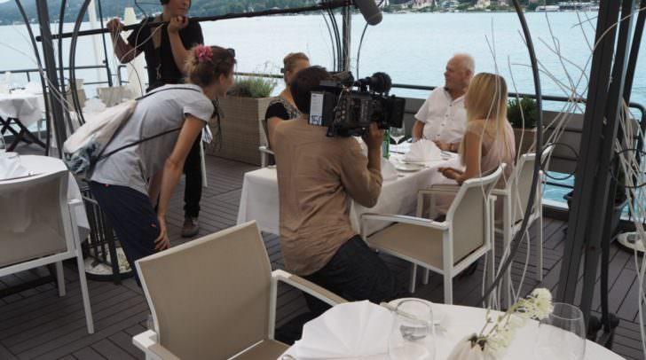 Anfang Oktober war das Kamerateam in Velden zu Gast