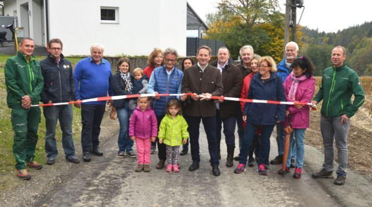 Weidlweg in der Gemeinde Schiefling eröffnet