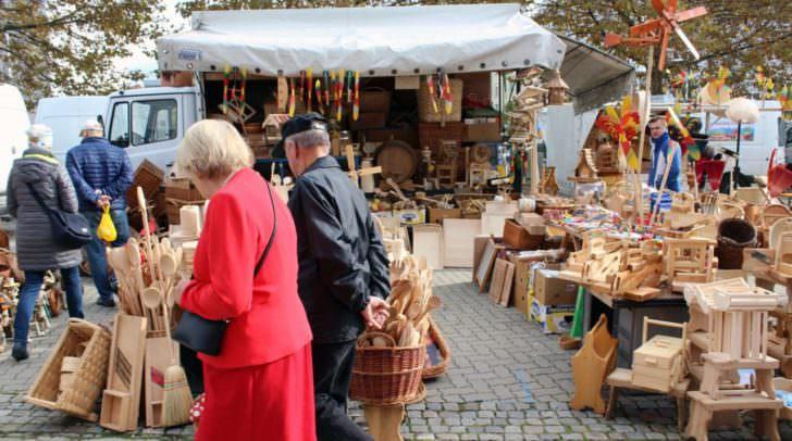 Am Ursulamarkt findest du Dinge, die du im Handel nicht kaufen kannst.